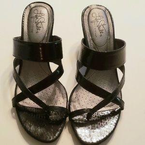 "BGUC Life Stride 2.5"" heels black sz 8"